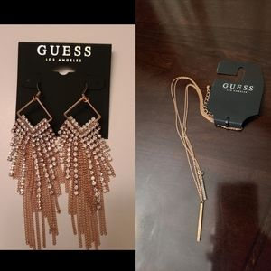 Guess Necklace & Earrings